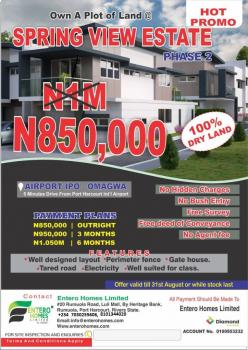Lands, Ipo, Omagwa Airport Road, Ikwerre, Rivers, Mixed-use Land for Sale