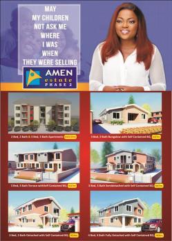 Plots of Land, Amen Estate Phase 2, Eleko, Ibeju Lekki, Lagos, Residential Land for Sale