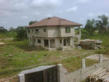 Unfinished 5 Bedroom Luxury House, Peninsula Garden Estate, Ajah, Lagos, Terraced Duplex for Sale