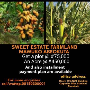 Sweet Farm Land, Mawuko, Odeda, Ogun, Commercial Land for Sale