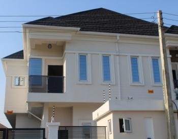 a Tastefully Finished 4 Bedroom Terrace with Bq in a Serene Environment, Oral Estate, Lekki, Lagos, Semi-detached Duplex for Sale
