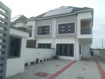 Luxury New Built 4 Bedroom Semi Detached Duplex with Solar Energy and 1bq, White Oak Estate, Ologolo, Lekki, Lagos, Semi-detached Duplex for Rent