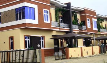 Newly Built 4 Bedroom Semi Detached House with Bq(partly Furnished with Ac,tv), By Chevron Toll Gate, Lafiaji, Lekki, Lagos, Semi-detached Duplex for Sale