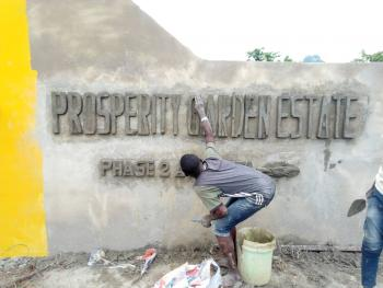 Prosperity Garden Estate Phase2  Atanota, Close to Winners Chapel, Sango Ota, Ogun, Residential Land for Sale