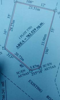 Cheap Land 782 Square Meters, Abakpa Nike, Enugu, Enugu, Mixed-use Land for Sale