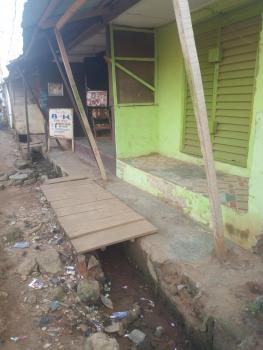 a Full Plot of Land Fenced with 16units Low Cost Shop on a Cornerpiece, Alade Yusuf Street Off Epetedo Bus Stop, Abaranje Ikotun, Ikotun, Lagos, Mixed-use Land for Sale