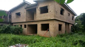 an Uncompleted 7 Bedroom Fully Detached Duplex on Full Plot, By Lex Hospital, Meiran, Agege, Lagos, Detached Duplex for Sale