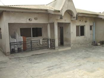 4 Bedroom Fully Detached Self Compound, All Rooms En Suit with Garage, Kwara Quarters, Behind World Oil Filling Station, Ibafo, Ogun, Detached Bungalow for Sale