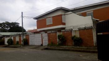 Well Spacious 4 Bedroom Duplex with 1 Room Bq, Femi Deru Close, Opebi, Ikeja, Lagos, Office Space for Rent