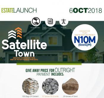 Buy Full Plot of Land   at Promo Price, Satellite Town, Ijesha, Lagos, Residential Land for Sale