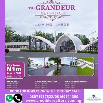 The Grandeur, Abijo Gra, at The Back of Corona School, Abijo, Lekki, Lagos, Residential Land for Sale