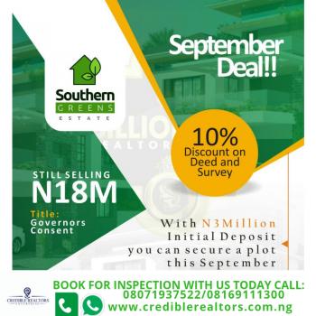 Southern Greens Estate, Shortly After The 2nd Lekki Toll Gate, Lafiaji, Lekki, Lagos, Land for Sale