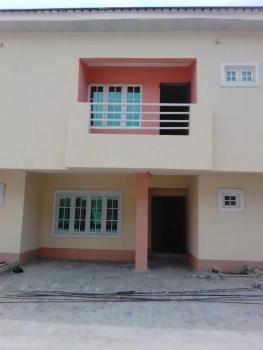 a Newly Built Carcass 4 Bedroom Terrace Duplex, Phase 5, By General Paint Building, Lekki Gardens Estate, Ajah, Lagos, Terraced Duplex for Sale