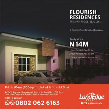 Luxury 2 Bedroom Flats with Excellent Facilities, Eluju, Ibeju Lekki, Lagos, Semi-detached Bungalow for Sale