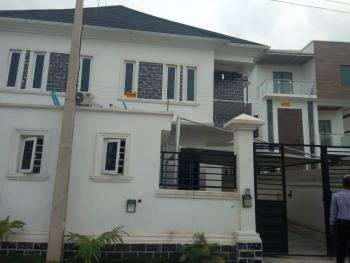 4 Bedroom Semi-detached House with a Room Bq, Osapa, Lekki, Lagos, Flat for Rent