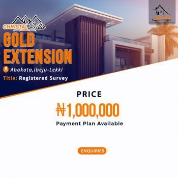a Plot of Land, Via Abeketa, Ikegun, Ibeju Lekki, Lagos, Land for Sale