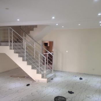 4 Bedroom Terrace Duplex with a Room Bq, Abiola Court, Chevy View Estate, Lekki, Lagos, Terraced Duplex for Sale