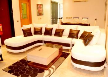 Beautiful Two Bedroom Apartment, Off Borno Street, Banana Island, Ikoyi, Lagos, Flat Short Let