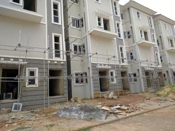 4 Bedroom Maisonette (carcass), By African University of Science and Technology, Galadimawa, Abuja, Terraced Duplex for Sale