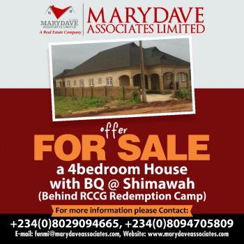 4 Bedroom Bungalow, Treasure Park and Garden, City of of David, Simawa, Ogun, Detached Bungalow for Sale