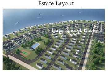 5 Units of 1,000sqms Waterfront Plots in Pinnock Beach Estate, Waterfront Pinnock Beach Estate, Osapa, Lekki, Lagos, Residential Land for Sale