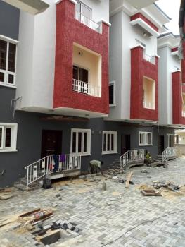 Newly Built 8 Units of 4bedroom Terrace Duplex with Bq, Self Transformer at Osapa, @ Osapa London, Osapa, Lekki, Lagos, Terraced Duplex for Sale