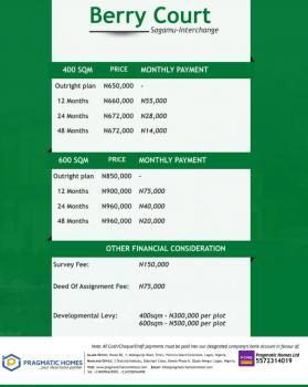 Berry Court, Sagamu, Ogun, Residential Land for Sale