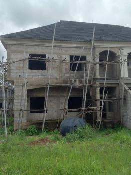 4 Bedroom Carcass with 2 Rooms Bq, Galadimawa / Apo Road, Duboyi, Abuja, Semi-detached Duplex for Sale