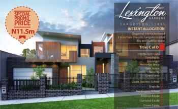 Lexington Estate, Ajayi Apata Estate, Sangotedo, Ajah, Lagos, Residential Land for Sale