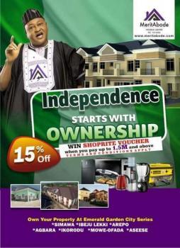 Emerald Garden City Estate, Redemption Camp Rccg Area, Off Lagos/ibadan Express, Simawa, Ogun, Residential Land for Sale