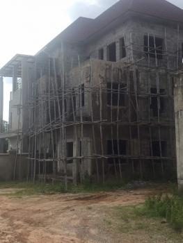 Carcass 5-bedroom Semi Detached Duplex with Pent House, Joy Estate, Beside Covenant Estate, Lokogoma District, Abuja, Semi-detached Duplex for Sale