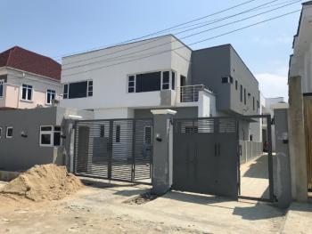 Newly Built 4 Bedroom Semi-detached House with Bq, Agungi, Lekki, Lagos, Semi-detached Duplex for Sale