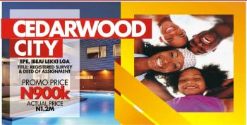 Cedarwood City Epe, an Ambience of Glamour and Tranquility, Epe, Lagos, Residential Land for Sale
