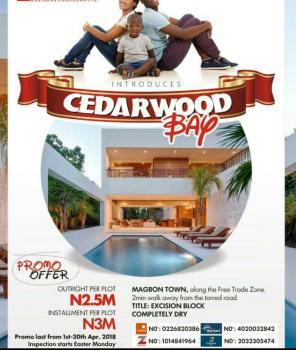 Cedarwood Bay Estate, Magbon, Lekki Free Trade Zone, Lekki, Lagos, Residential Land for Sale