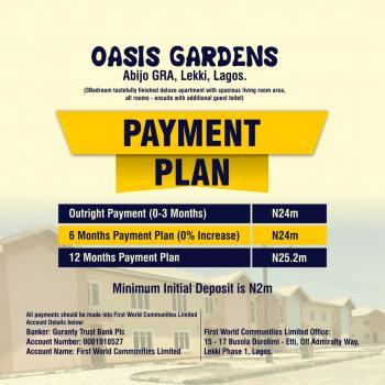 3 Bedroom Maisonette Duplex Oasis Garden, Abijo Gra, Lekki, Lagos, Detached Duplex for Sale