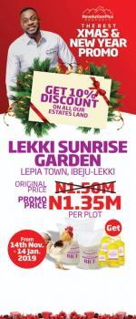 Lekki Sunrise Garden, Free Trade Zone Road, Lepia, Akodo Ise, Ibeju Lekki, Lagos, Residential Land for Sale