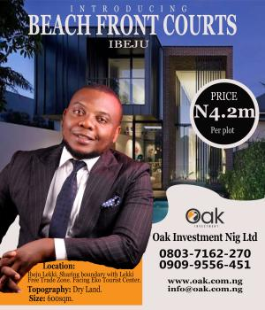 Beachfront Courts Estate, Akodo Ise, Ibeju Lekki, Lagos, Mixed-use Land for Sale