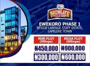 Plots of Land, Richlife, Beside Lafarge, Staff Estate,  Lapeleke Town, Ewekoro, Ogun, Residential Land for Sale