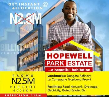 Hopewell Park, Lapekun, Orimedu, Ibeju Lekki, Lagos, Residential Land for Sale