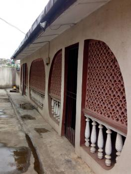 2 Bedroom Bungalow at The Back of Block of 4 Flats, Off Fagba Bus Stop, Fagba, Agege, Lagos, Detached Bungalow for Rent