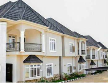 Newly Built 4 Sets of 4 Bedroom Terrace Duplex, Asokoro District, Abuja, Terraced Duplex for Sale