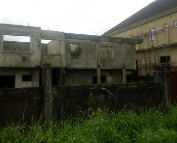 1000m2 of Land with Demolish-able Uncompleted Twin Duplex., 6th Avenue, Festac, Isolo, Lagos, Residential Land for Sale