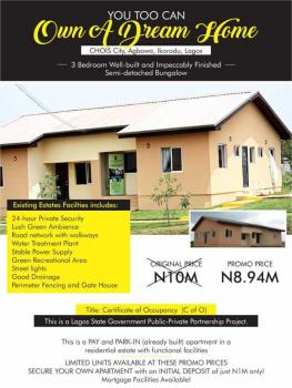 3 Bedroom Well-built and Impeccably Finished Semi-detached Bungalow*, Agbowa, Ikorodu, Lagos, Detached Bungalow for Sale