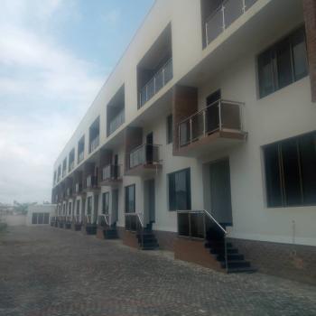 New Built 4 Bedroom Terrace Duplex with Spacious Bq, Off Nicon Town Road, Ikate Elegushi, Lekki, Lagos, Flat for Rent