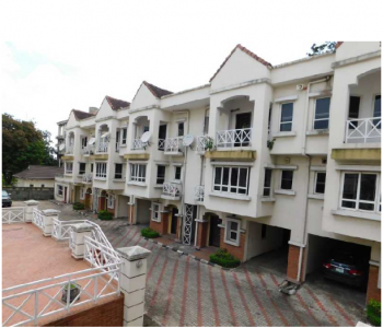 Serviced 4 Bedroom Town Houses, with a Room Service Quarter, Swimming Pool, Gym, Off Alfred Rewane Road, Old Ikoyi, Ikoyi, Lagos, Terraced Duplex for Rent