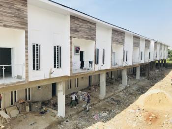 Brand New Four Bedroom Terrace House with Bq, Lafiaji, Lekki, Lagos, Terraced Duplex for Sale