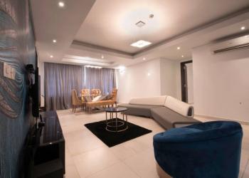 Luxury 3 Bedroom Apartment with Pool & Gym, Bourdillon Drive, Ikoyi, Lagos, Flat / Apartment Short Let