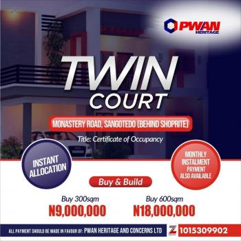 Twin Court, Monastery Road, Behind Novare Mall (shoprite), Sangotedo, Ajah, Lagos, Mixed-use Land for Sale