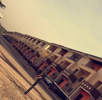 4 Bedroom Carcass Terrace Duplex, Apo, Abuja, Terraced Duplex for Sale