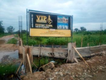 Vip Gardens, Festac Town, Lagos., Festac Town, The End of 6th Avenue, Festac, Isolo, Lagos, Mixed-use Land for Sale